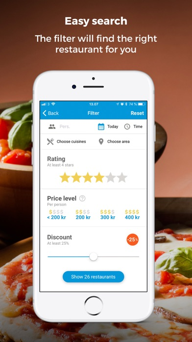 R2N - Discount on Restaurants screenshot three