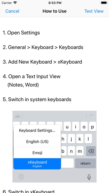 xKeyboard - Custom Keyboard screenshot-7