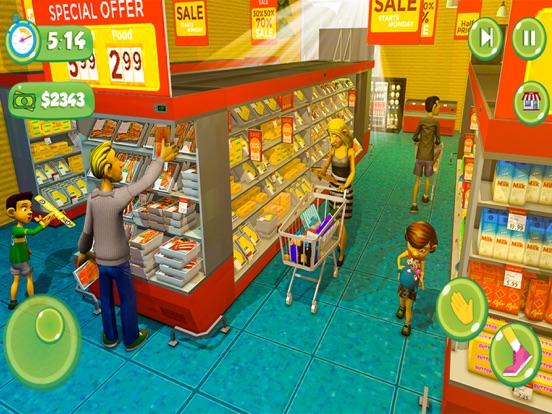 Supermarket Shopping Girl Game screenshot #2