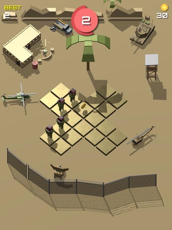 Pixel 3D - Soldier Gamesのおすすめ画像7