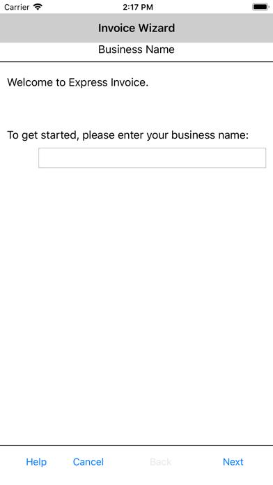 Express Invoice InvoicingScreenshot of 2