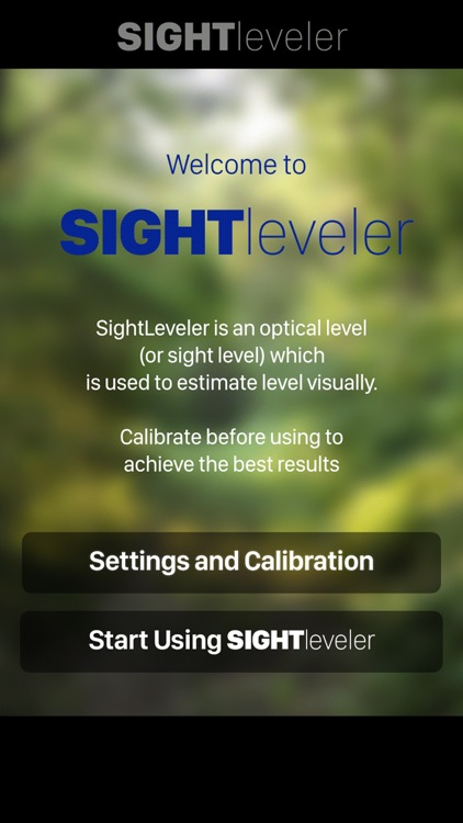 SightLeveler