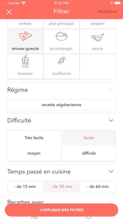 Marmiton : recettes de cuisine screenshot-3