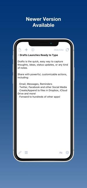 Drafts (Legacy Version) Capture d'écran