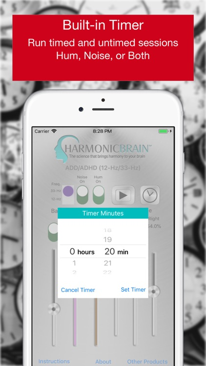 HarmonicBrain ADD/ADHD screenshot-4