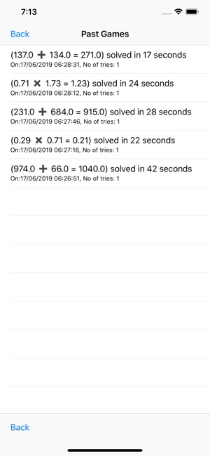 Numbers Game: Calculate Faster Screenshot