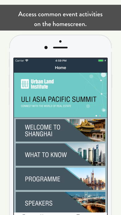 ULI Events by Urban Land Institute (iOS, United States) - SearchMan