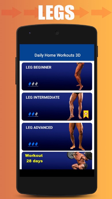Home Workout No Equipment screenshot 5