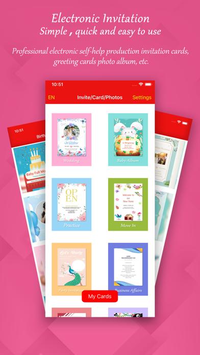 Invitation Card Flyer Creator App Download Utilities