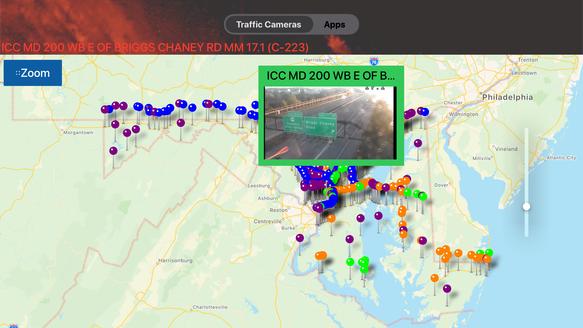 Traffic Cameras Maryland Pro screenshot 14