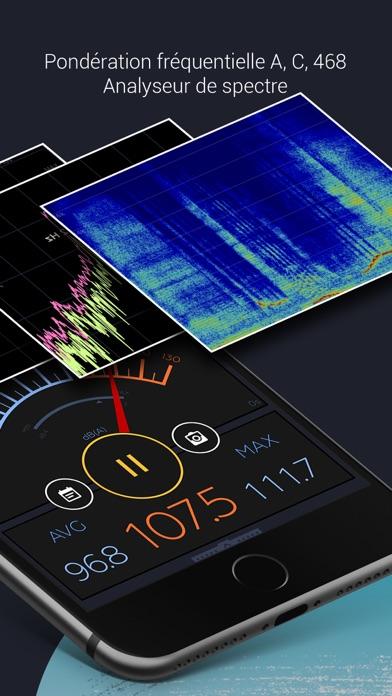 Screenshot #2 pour Décibel X - dB Sonomètre