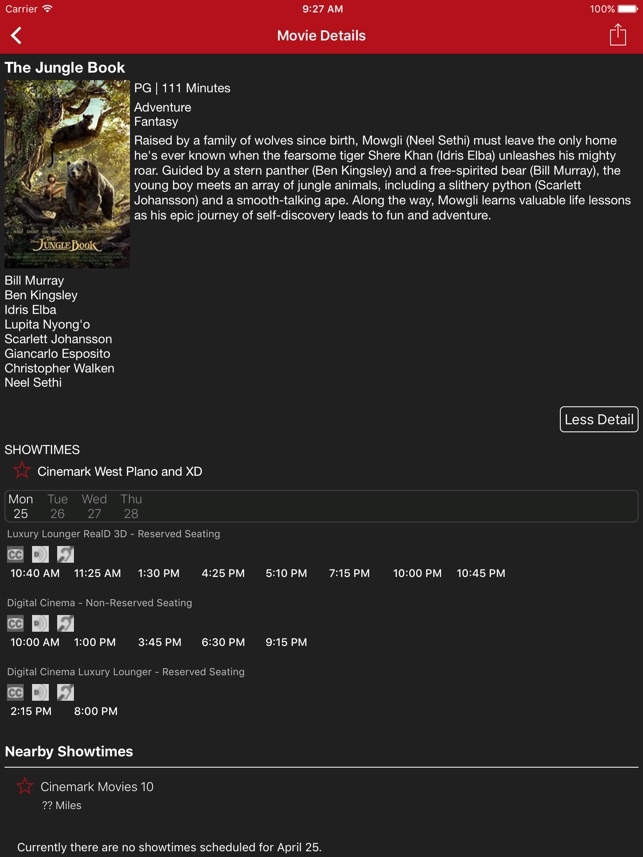 Cinemark Theatres on the App Store