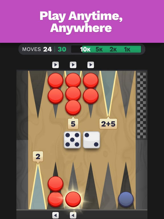Backgammon Blitz screenshot 7