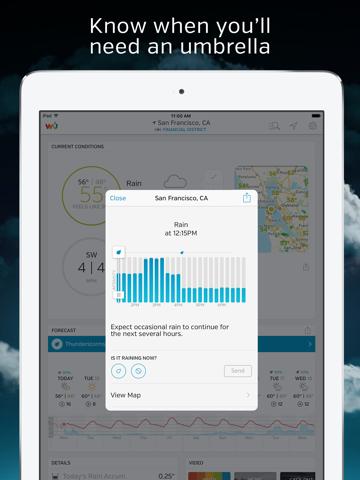 Weather Underground - Forecast - náhled