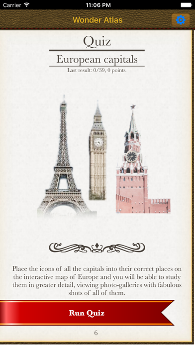 Europe. The Wonder Atlas Pro. Screenshots