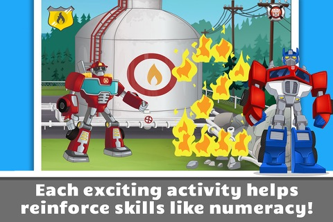 Transformers Rescue Bots: - náhled