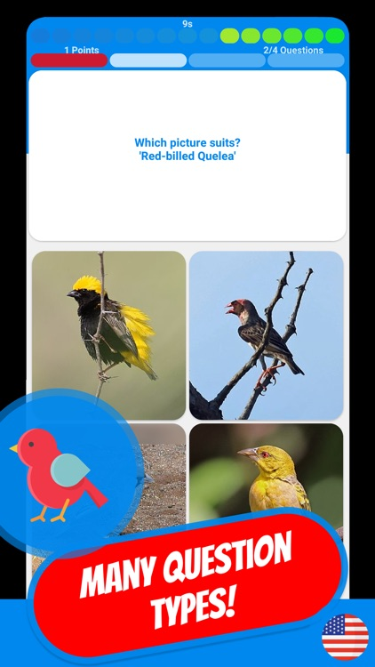 BIRDS & ORNITHOLOGY Quiz screenshot-9