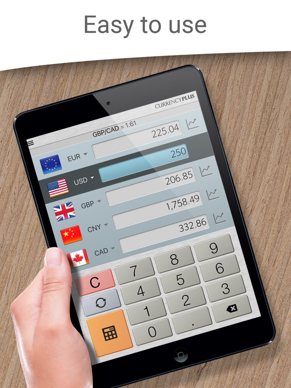 Currency Converter Plus Live screenshot