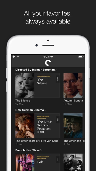 The Criterion Channel screenshot 3