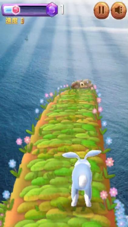 兔兔快跑 - 水上乐园3D跑酷 screenshot-5