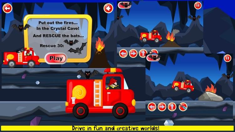Fireman Game Fire-Truck Games screenshot-6