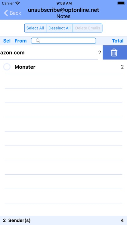 Delete Emails screenshot-9