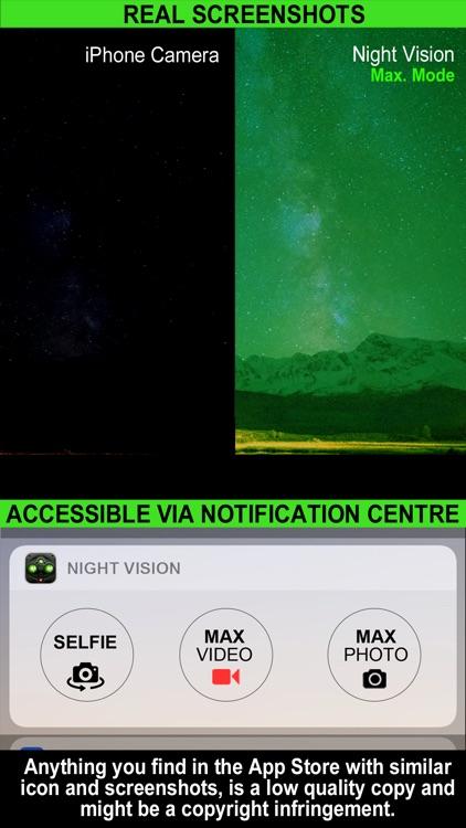 Night Vision (Photo & Video) screenshot-3