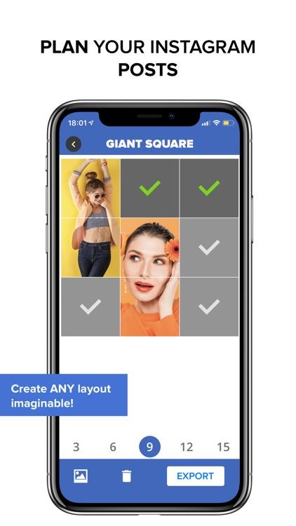 Giant Square PRO - Grids+ screenshot-5