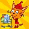 Kid-E-Cats 小猫超市游戏, 超市经营, 猫咪杂货店