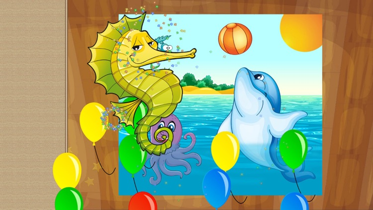Sea Animals Puzzle for toddler screenshot-3