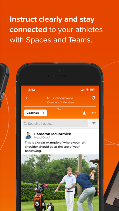 CoachNow: Coaching Platform Screenshot