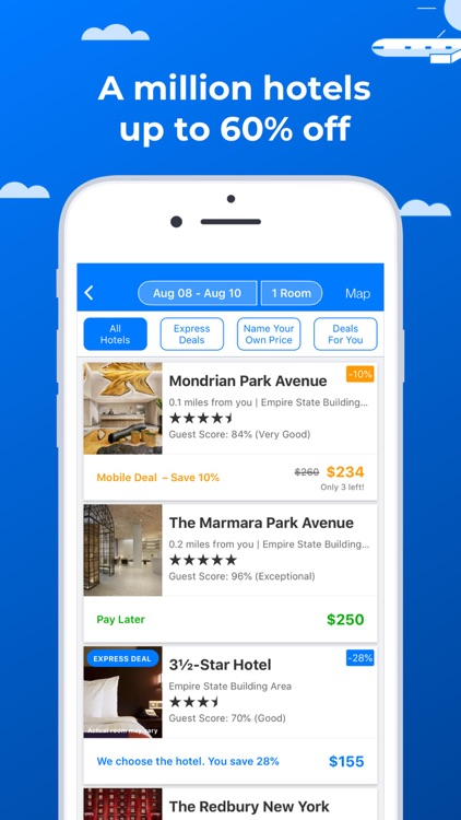 Priceline: Hotels, Cars & More