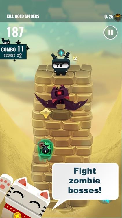 Ninja Dude vs Zombies 2 screenshot-4