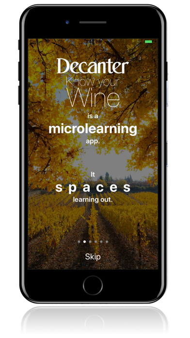 Decanter Know Your Wine Screenshot