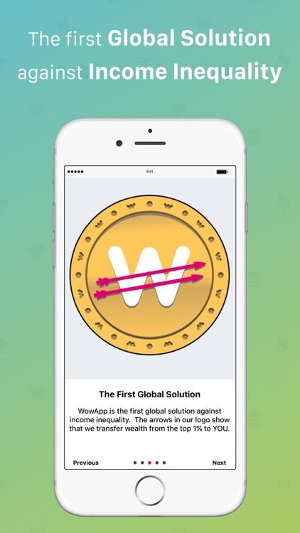 WowApp - Earn. Share. Do Good
