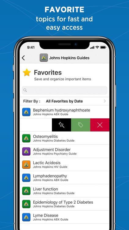 Johns Hopkins Antibiotic Guide screenshot-7