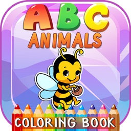 ABC Animals Phonics Coloring