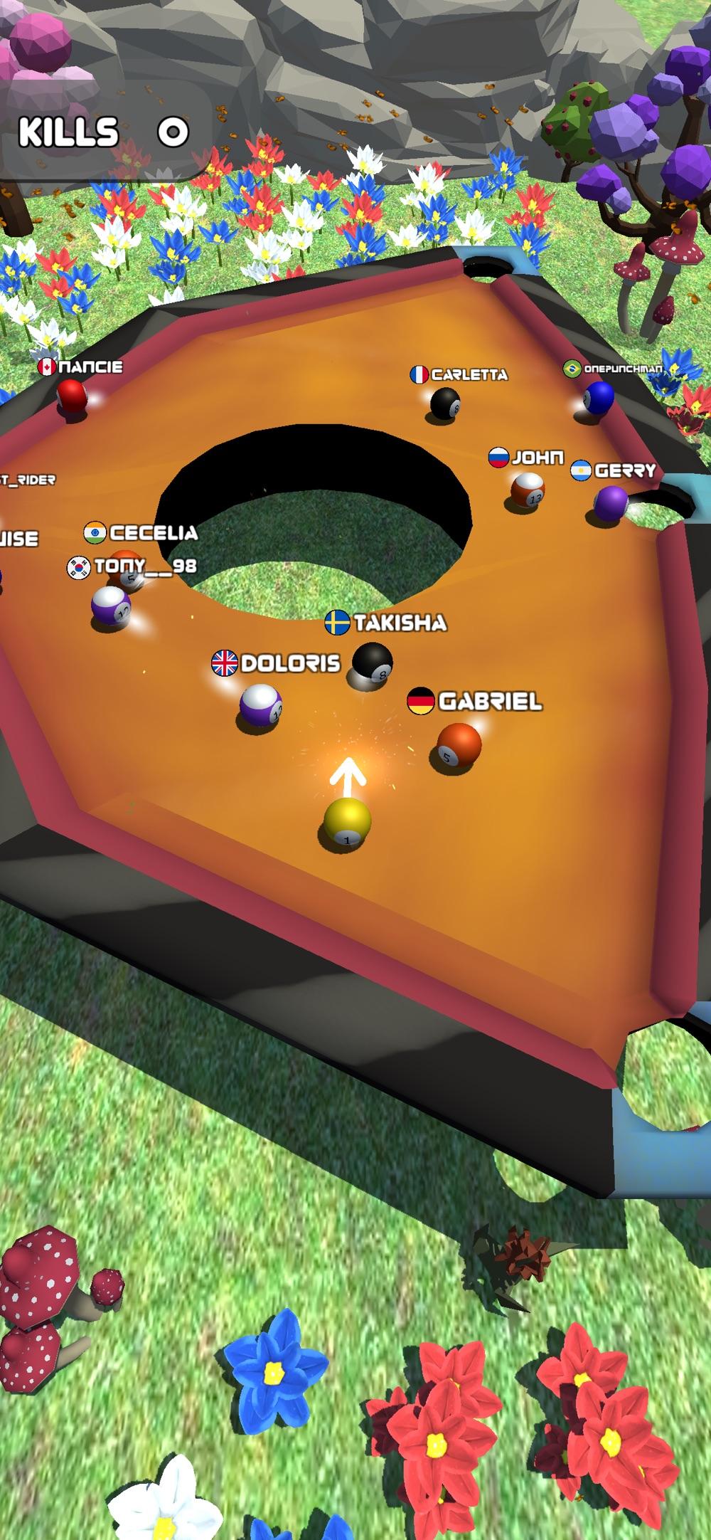 8Ball Pool Billiards Bumper.io
