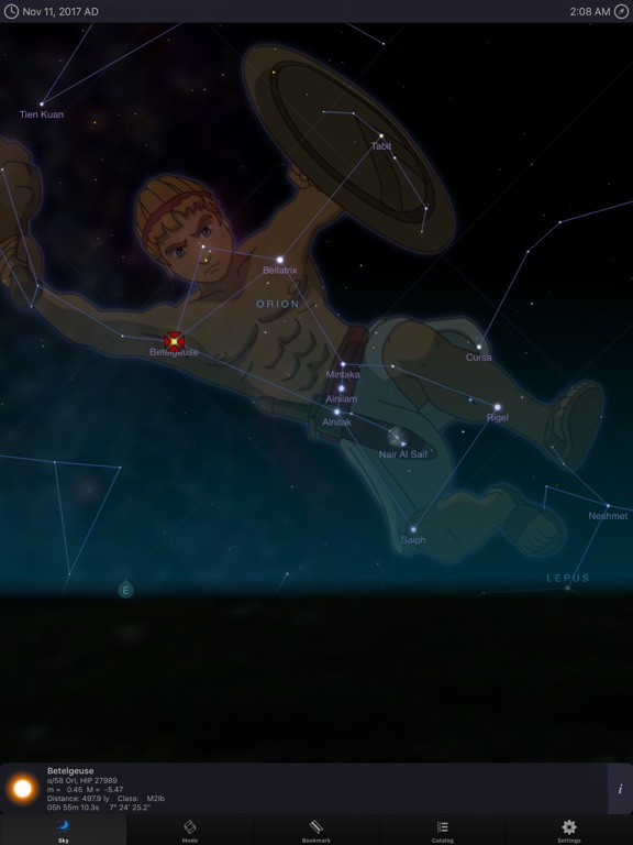Screenshot #2 for StarMap 3D+ Plus