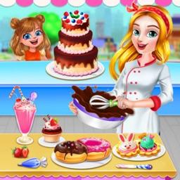 Sweet Bakery Kitchen Fever