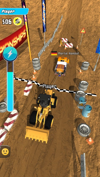 Trucks Tug Of War screenshot-4