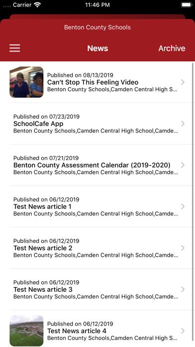 点击获取Benton County Schools TN