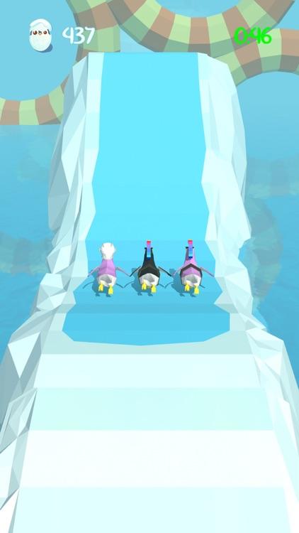 Penguins Race - Battle Royale screenshot-3