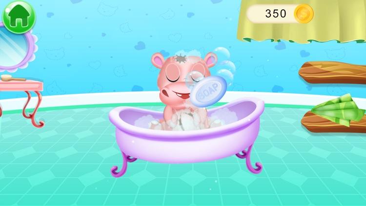 Baby Pet Wash Dressup Bathing screenshot-4