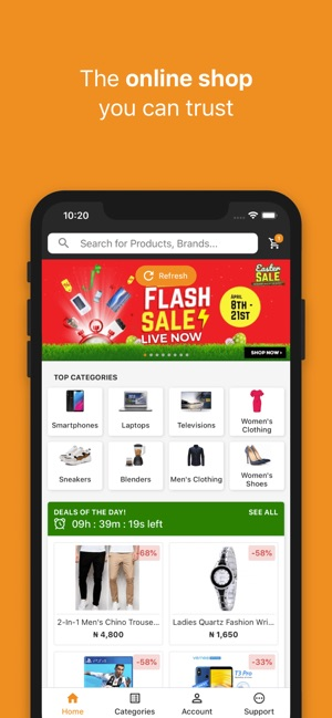 bdd67abf926 Jumia Online Shopping on the App Store