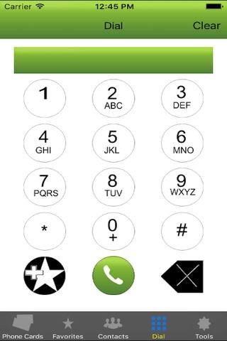 Phone Card - Dialer - náhled