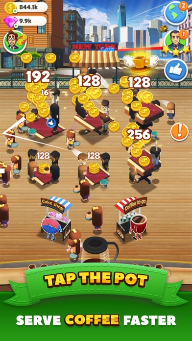 Tap Cafe - Coffee Shop Manager Screenshot