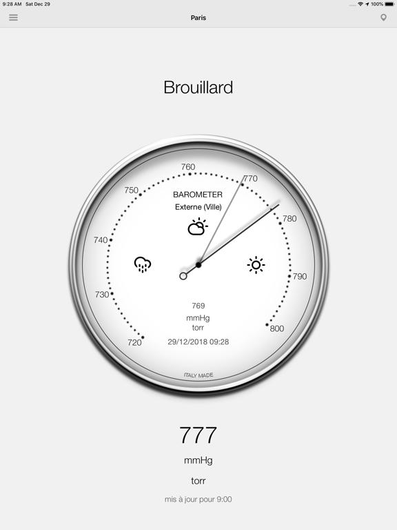 Screenshot #5 pour Baromètre - Pression
