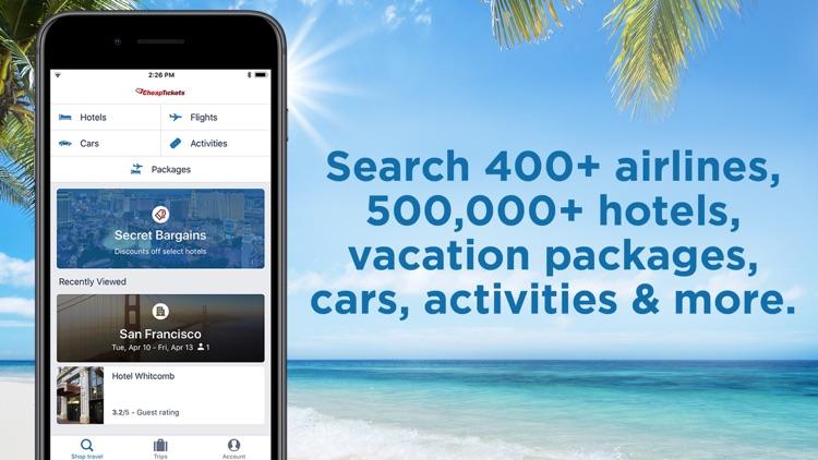 CheapTickets Hotels & Flights screenshot-6