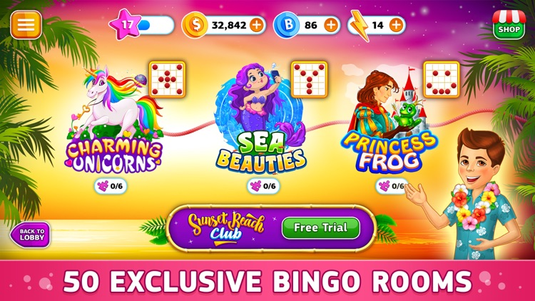 BinGo - Tropical Beach Online screenshot-5